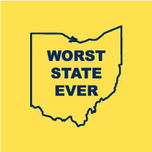 Worst State Ever American Apparel - Maize