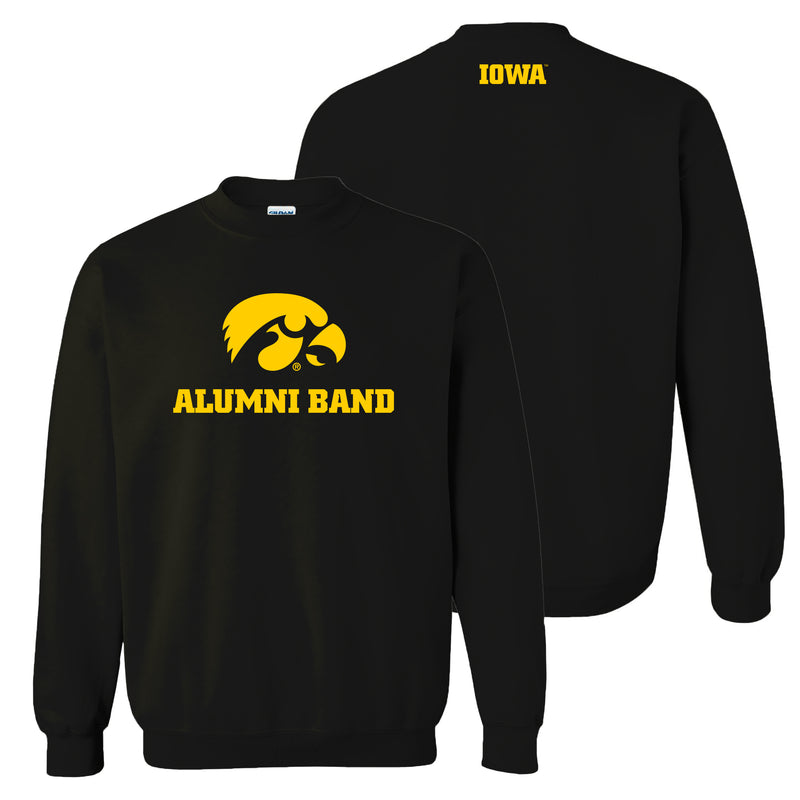 University of Iowa Alumni Band Sweatshirt - Black