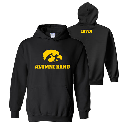 University of Iowa Alumni Band Hoodie - Black