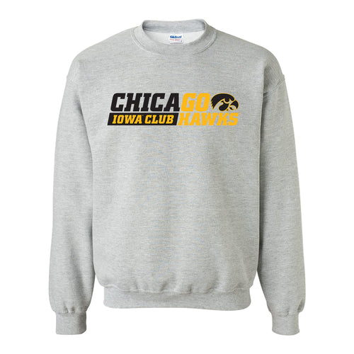 I Club Chicago Crewneck Sweatshirt - Sport Grey