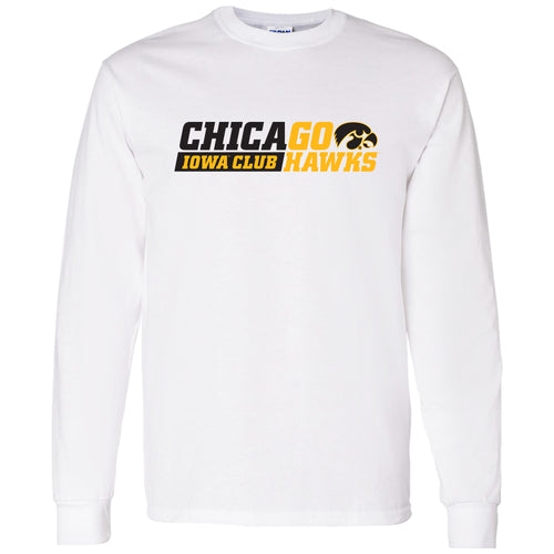 I Club Chicago Long Sleeve T-Shirt - White