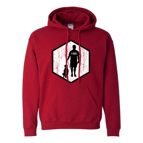 Coval Dog Hooded Sweatshirt - Antique Cherry Red