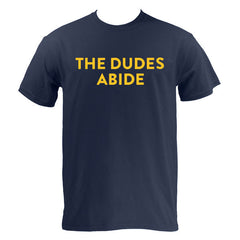 The Dudes Abide - Navy