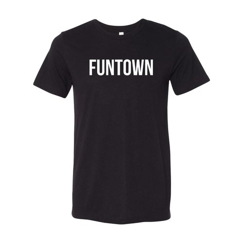 Funtown White Logo T-shirt - Black