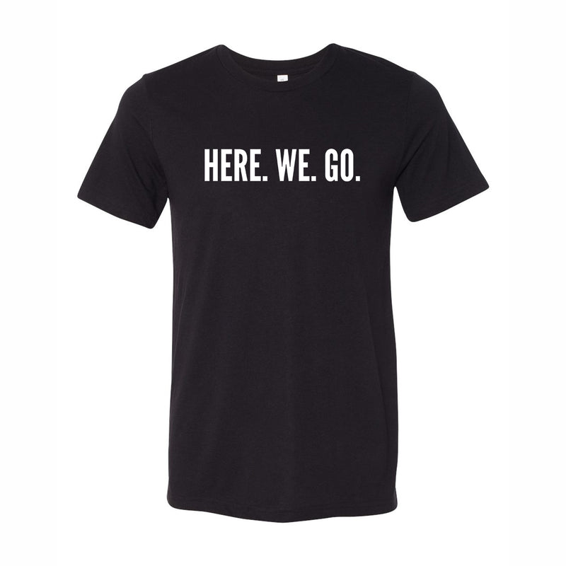 Here We Go Logo T-shirt - Black