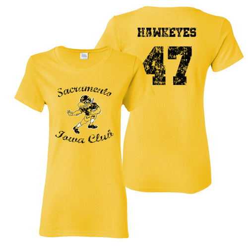 Sacramento Iowa Club Women's T-Shirt - Yellow