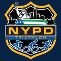 NYPD Triathlon Team Zip Hoodie - Navy