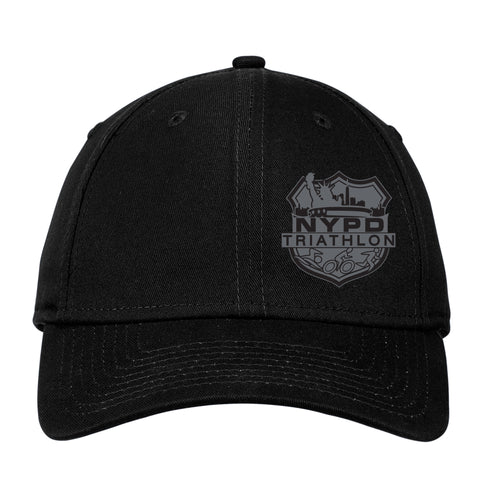 NYPD Triathlon Web Logo Structured Hat - Black