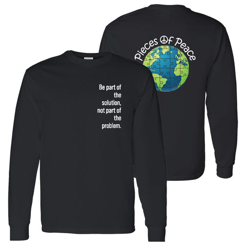 Part Of The Solution Unisex Long-Sleeve T-shirt - Black