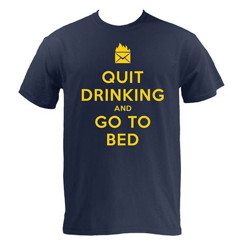 Quit Drinking and Go to Bed - Navy