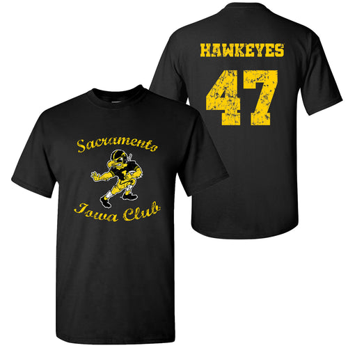 Sacramento Iowa Club T-Shirt - Black