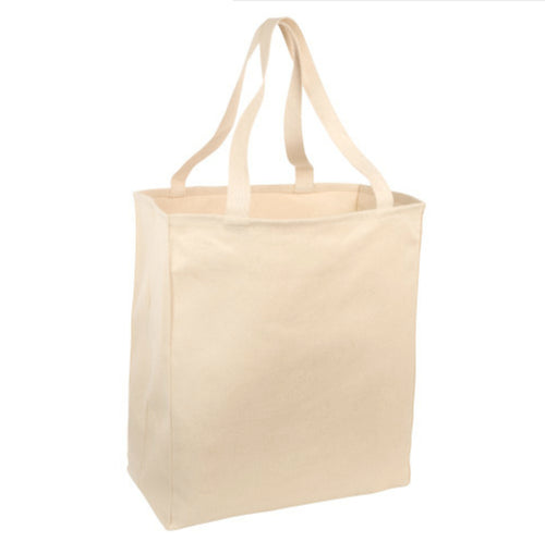 Port & Co Over The Shoulder Grocery Tote
