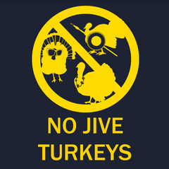 No Jive Turkey - Navy