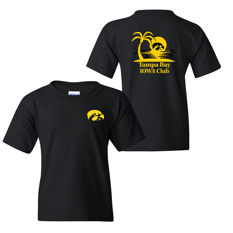 Tampa Bay Iowa Club Youth T-Shirt - Black