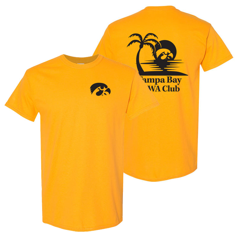 Tampa Bay Iowa Club T-Shirt - Gold