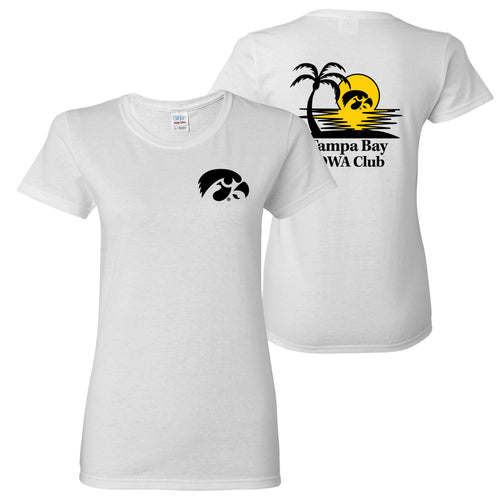 Tampa Bay Iowa Club Women's T-Shirt - White