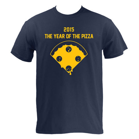 Year of the Pizza - Navy