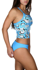 Adoretex Girl's /Women's Syberpool Tankini Set Swimsuit (FST01)