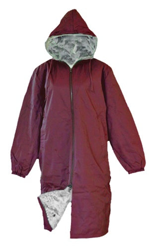 Adoretex Unisex Adult & Youth Faux Fur Lining Swim Parka (PK003)