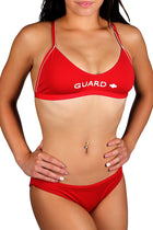 Adoretex Women's Guard Polyester Workout Bikini Swimsuit (FGP03)
