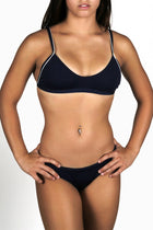 Adoretex Women's Polyester Workout Bikini Top (FP004T)