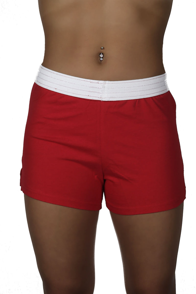 Adoretex Women's Guard Roll-Down Cheer Short