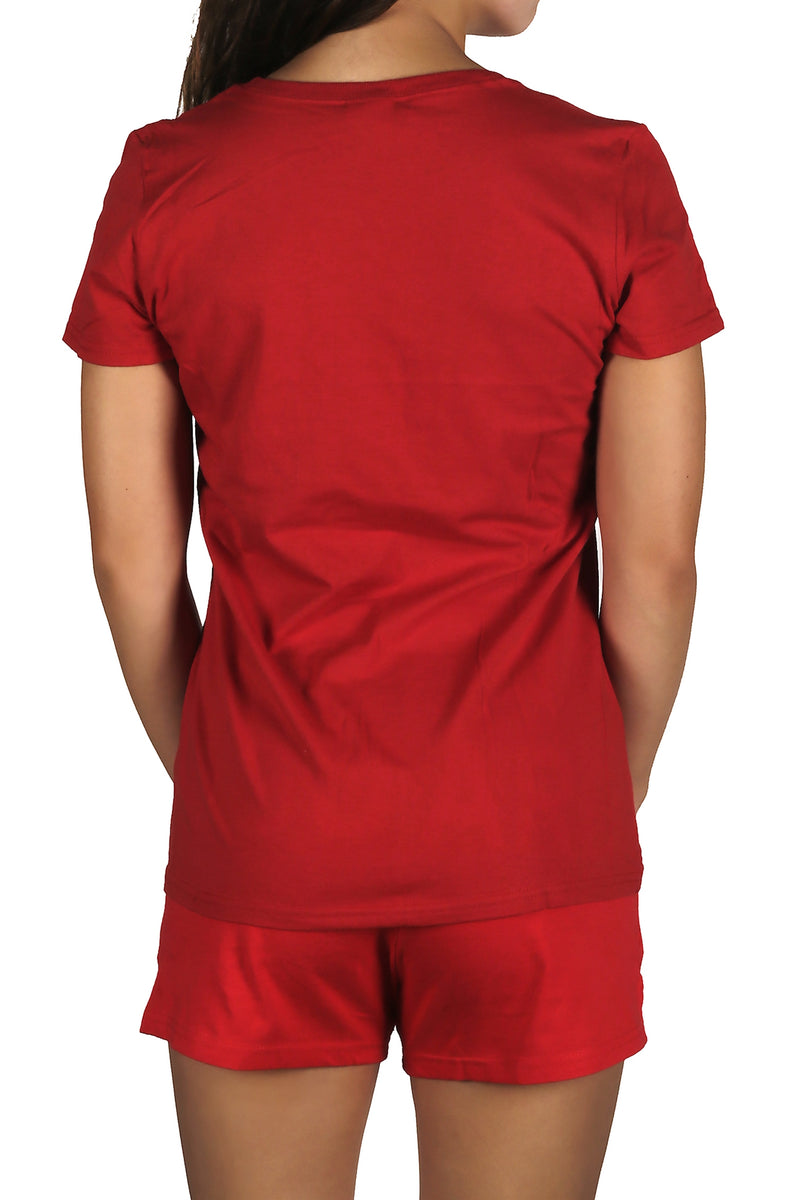 Adoretex Women's Guard T-Shirt Guard Red Tee (TGF001)
