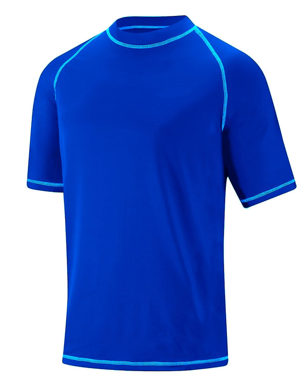 Adoretex Boy's UV Short Sleeve Rash Guard Tee
