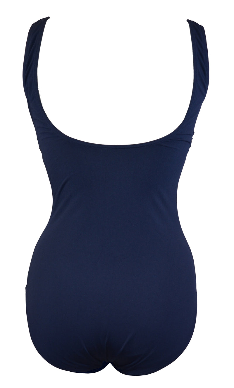 Adoretex Women's Polyester Fitness Tank with Soft Bra Swimsuit (FP006)