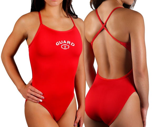 Adoretex Women's Guard Cross Back Swimsuit (FGP07)