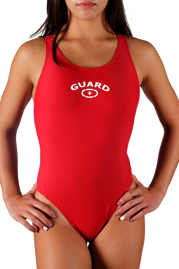 Adoretex Women's Guard Xtra Life Lycra Fit Back Swimsuit with Soft Cups (FGP15)