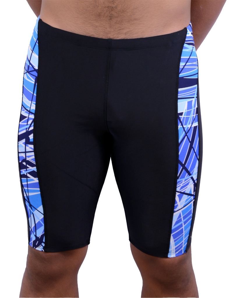 Adoretex Boy's/Men's Printed Pro Athletic Jammer Swimsuit Swim Shorts (MJ013)