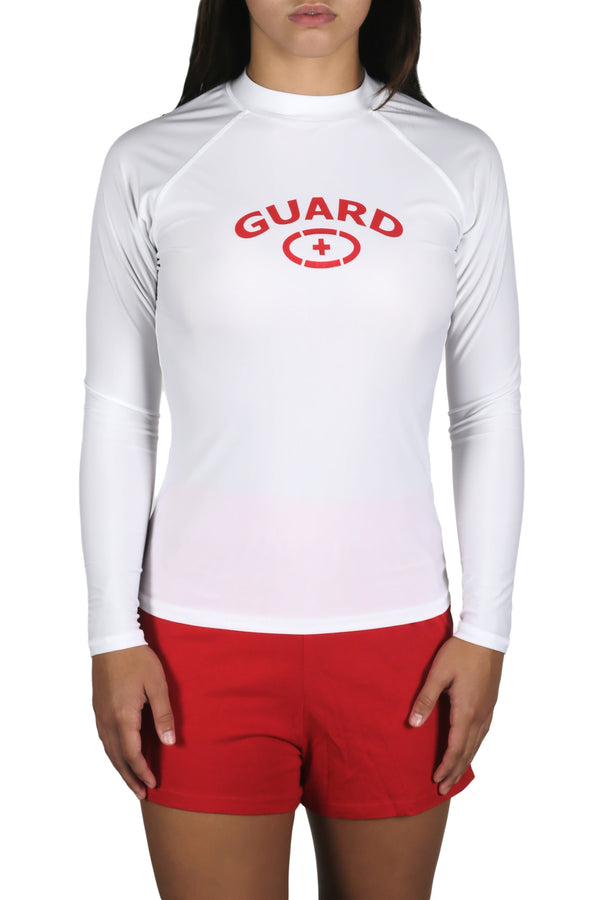 Adoretex Women's Guard Rashguard UPF 50+ Long Sleeve Swimwear Swim Shirt