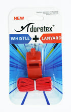 Adoretex Sport Guard Coach Plastic Whistle With Lanyard (WK001S)