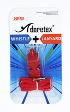 Adoretex Classic Loud Pealess, Sports Coach, Guard Whistle with Lanyard (WK002S)