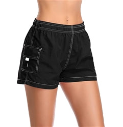 Adoretex Women's Quick Dry Elastic Waistband Lightweight Swim Board Shorts