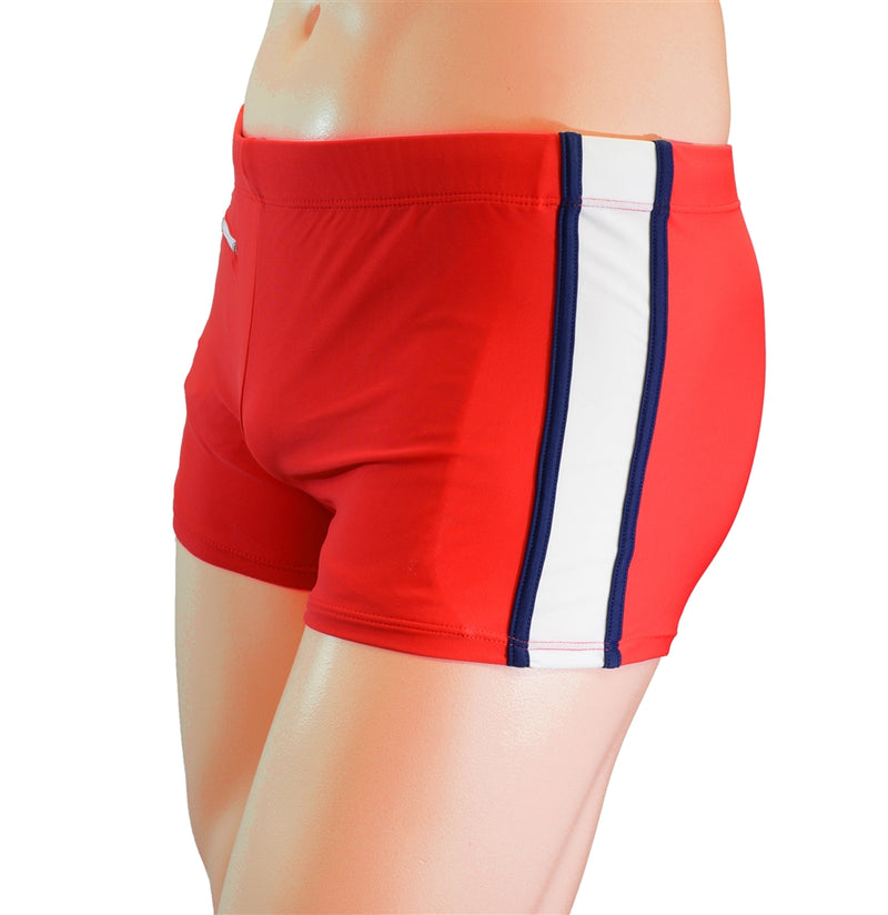 Adoretex Boy's Kids Splice Swim Aquashort Square Leg Briefs Swimsuit