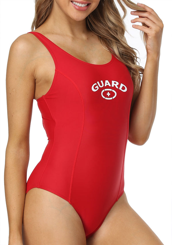Adoretex Women's Guard Moderate Fitness Swimsuit with Built-in Pads (FGP16)