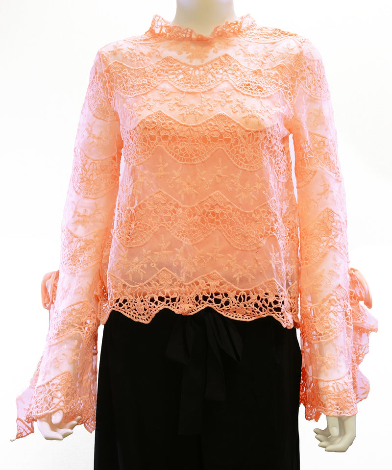 Adoretex Sheer Lace Top (CF001)