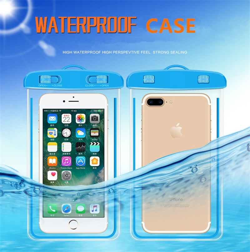 Clear Waterproof Case for Phone (PT-04)