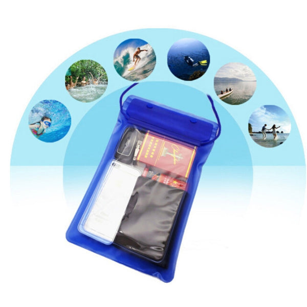 Clear Waterproof Pouch for Tablet and Phone (PT-11)