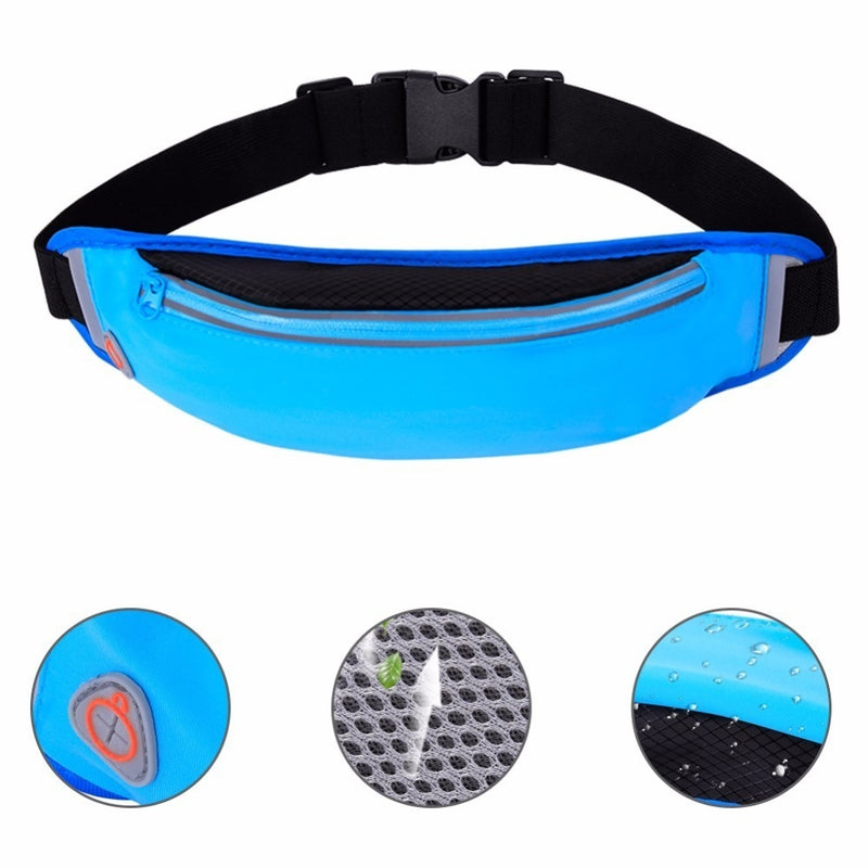 Sleek Slim Running Belt Waist Bag Pack for Phone(SP-20)
