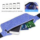Slim Flat Running Belt for Smartphones, Single Pouch(SP-23)