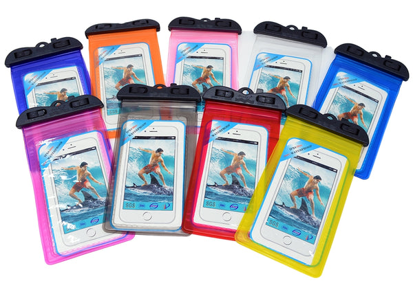 "Sport Waterproof Phone Pouch with Armband, 6""-(WP-04)"