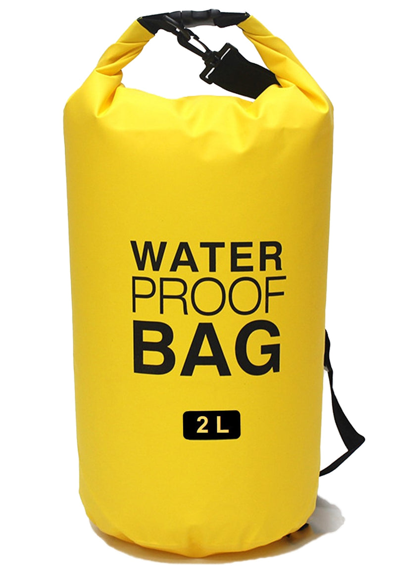Solid Waterproof Dry Bag 2 Liter for Sports For Outdoors(WP-06)