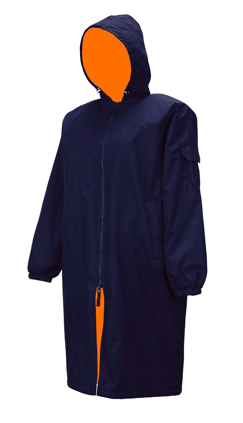 Adoretex Unisex Adult & Youth Swim Parka-Orange Lining