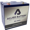 "Allied ""Drop-In-Ready"" Lithium 48V Batteries for Club Car Precedent"
