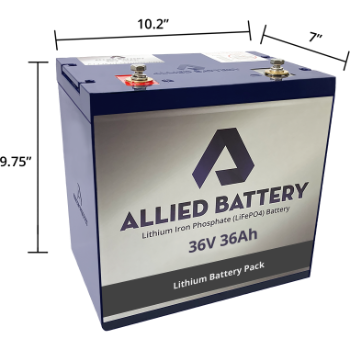 "Allied ""Drop-In-Ready"" 36V Lithium Batteries"