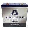 "Allied ""Drop-In-Ready"" Polaris Ranger Lithium Batteries 48V"