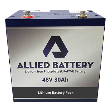 "Allied ""Drop-In-Ready"" Lithium 48V Batteries for Yamaha Drive & Drive 2"